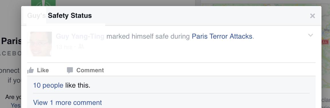 FBook SafetyStatus pic
